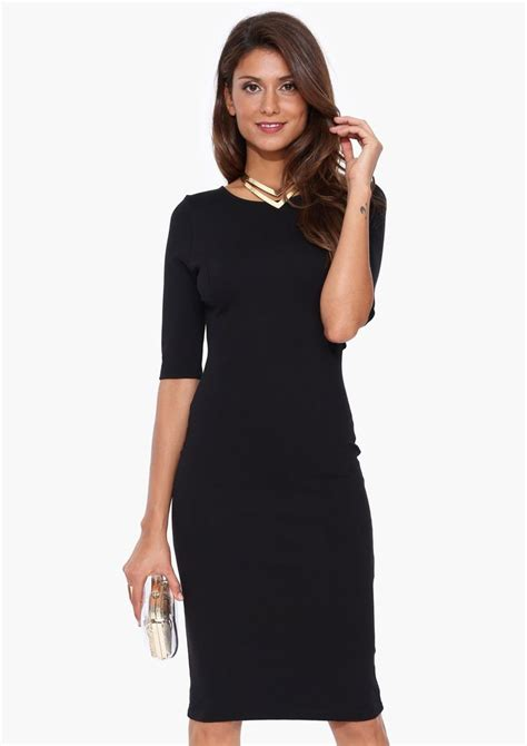9 Classic Looks by Midi Dress In Black Necessary Clothing Vestidos