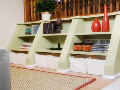 shelving for small spaces utilize spaces with creative shelves hgtv
