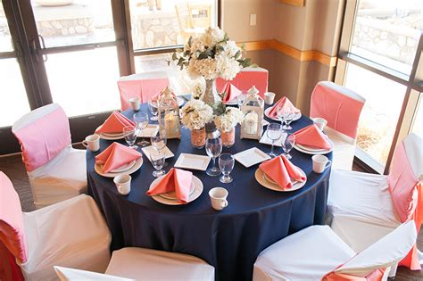navy and coral wedding centerpieces navy coral navy plum navy greens and other wedding