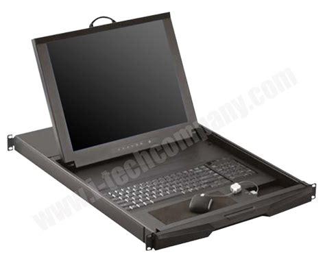 kvm rack drawer 1u rack mount 19 quot lcd keyboard kvm drawer combo free ps 2