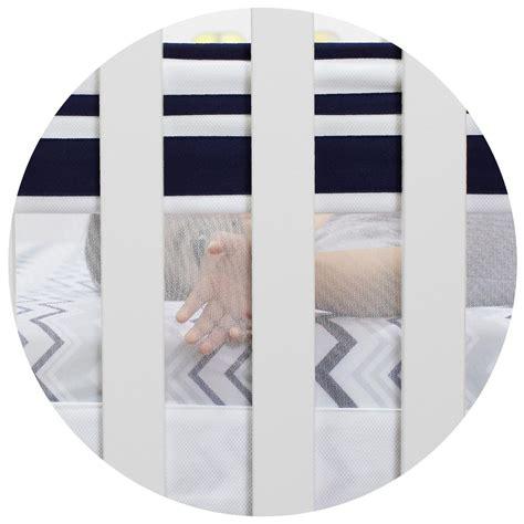 crib mattress liner just born high seas fresh air crib liner