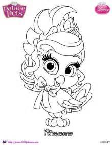 princess palace pets coloring birdadette skgaleana