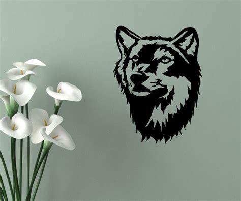 Aufkleber Indianer Und Wolf by Wandtattoo Indianer Western Indian Aufkleber Wolf Raubtier