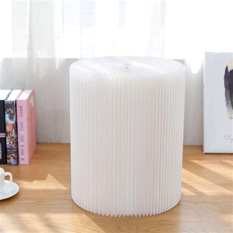 Paper Folding Chair - white paper folding chair 187 petagadget