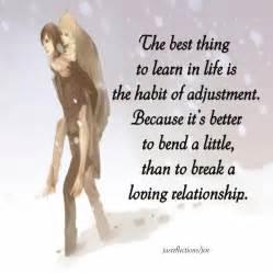 In In Relationship Habit Of Adjustment Jasreflections