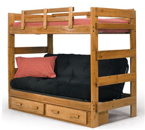 Futon Bunkbed A Bunkbed And Sofa In One