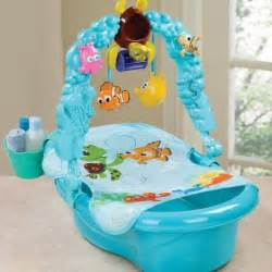 finding nemo themed tub baby will bathing with nemo