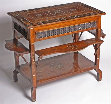 middle eastern side tables middle eastern inlaid couscous table 1890 at 1stdibs