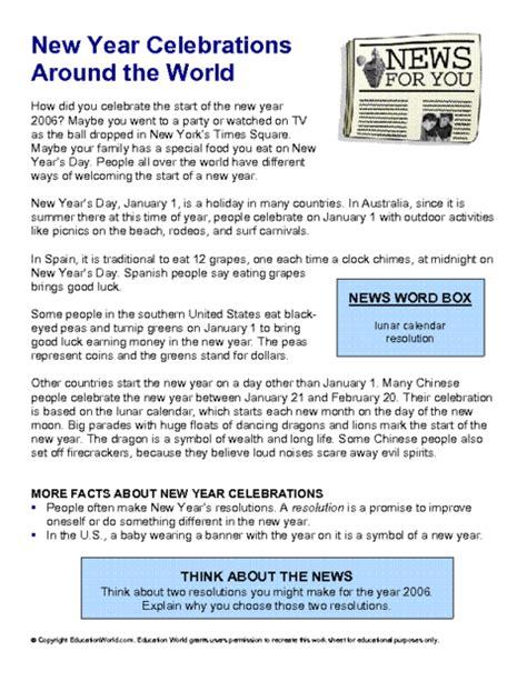 new year reading activities newsforyou018 pdf education world
