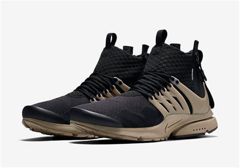Nike Presto Mid Acronym The Acronym X Nike Presto Mid Releases This Week