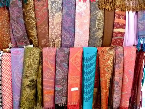panoramio photo of scarves for sale in the city of