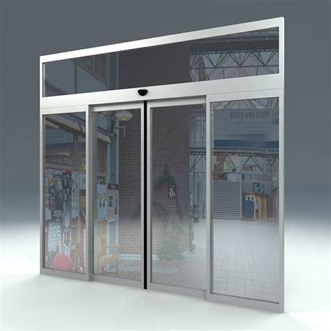 free door sliding automatic 3d model