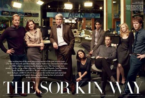 the news room cast these are their stories sam waterston in vanity fair the newsroom cast photo