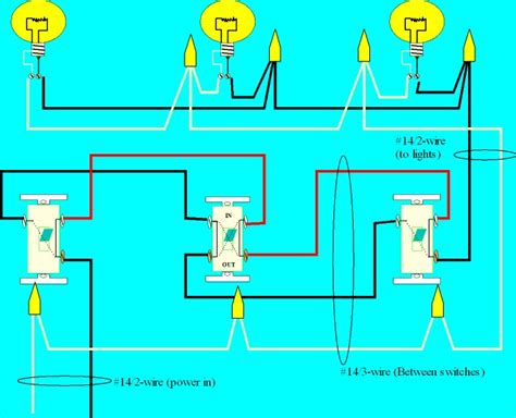 three way switch diagram for dummies myideasbedroom