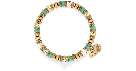 alex and ani beaded bracelets alex and ani pasture floral beaded wrap bracelet in
