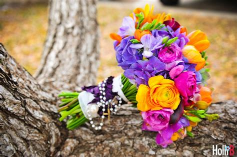 Bright Wedding Flower Picture by Bright Wedding Flowers Bridal Bouquet Freesia Tulips