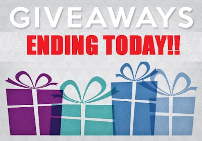 Sweepstakes Today Only - big list of over 20 sweepstakes ending today make sure to at least enter the ones
