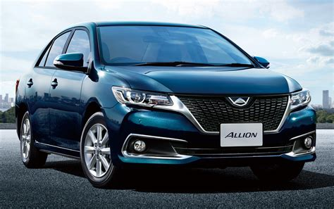 toyota in japan toyota allion and premio facelift unveiled in japan