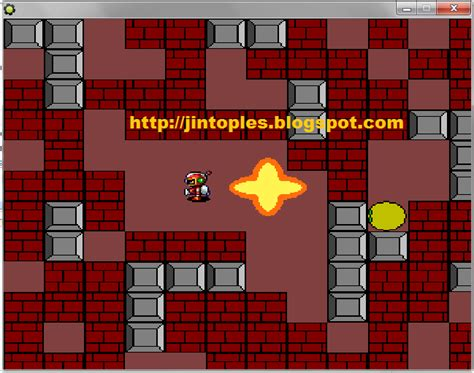 membuat game web cara membuat game bomberman dengan game maker jin toples