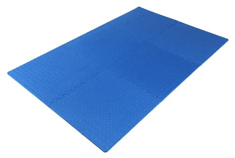 Exercise Rubber Mats Interlocking by Prosource Puzzle Exercise Floor Tiles Mat Foam