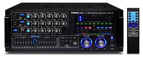 Karaoke Mixer Lifier Ma 1600 idolpro ip 388 600w bbe mixer lifier 6 band equalize