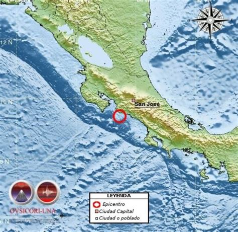 earthquake costa rica strong earthquake on costa rica s central pacific is felt