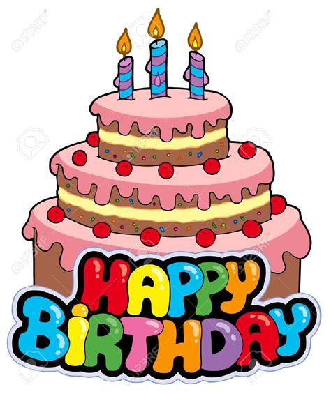 compleanno clipart happy birthday cake clipart