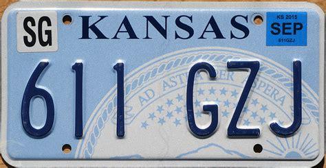 Kansas Vanity Plate by Kansas 2 Y2k
