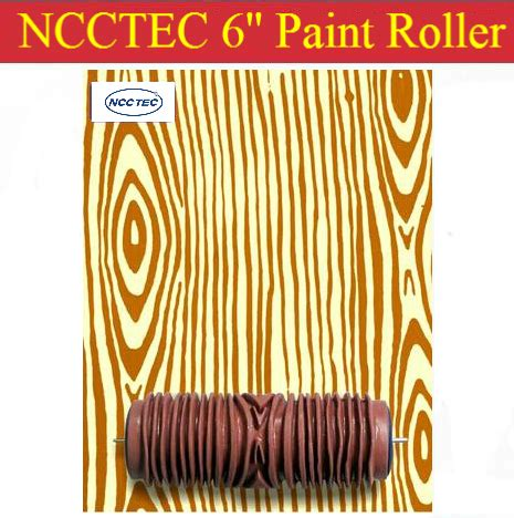 wood pattern paint roller wood grain pattern 6 soft rubber decorator roller free