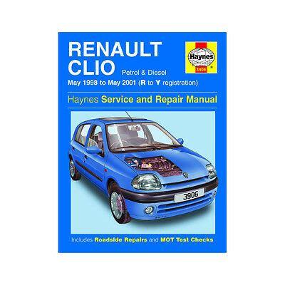 Renault Clio Haynes Manual 1998 01 1 2 1 4 1 6 Petrol 1 9