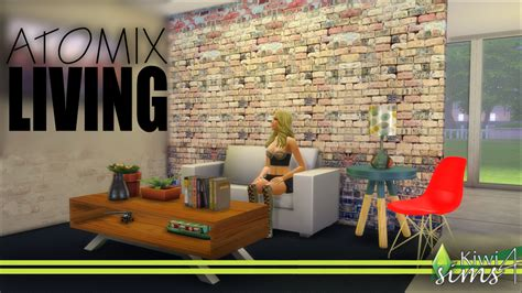 Decoration Wall Stickers atomix living mid century modern is one of my sims 4