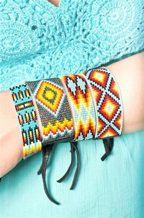 indian beaded bracelets patterns 153 best images about beadiful beadwork on