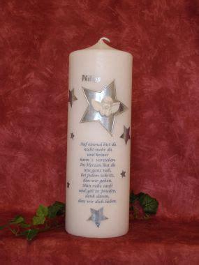 Kerzen Für Kerzenständer by Geschenke Loesch Gedenkkerze F 195 188 R Ein Sternenkind 950