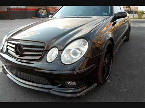 mc design whips murdered out 2006 mercedes e55 amg youtube