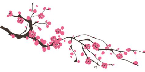 new year flower png gratis vectorafbeelding bloem perzik lente gratis