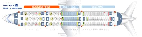 boeing 787 9 seat map seat map boeing 787 9 united airlines best seats in plane