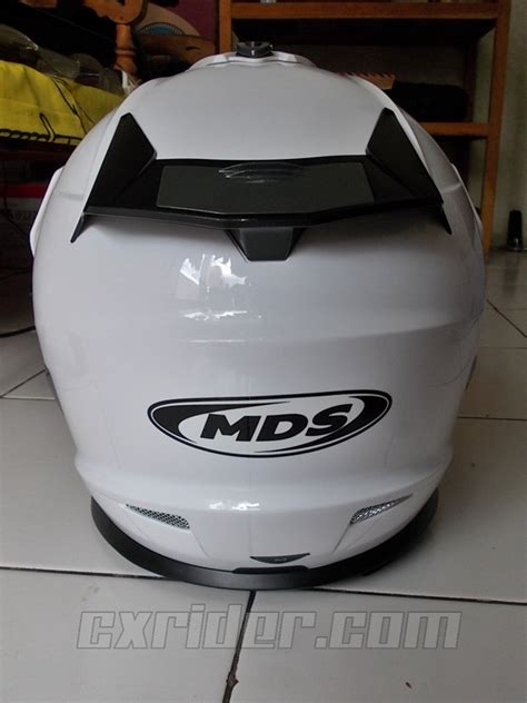 Murah Mds Superpro Solid Supermoto cxrider review singkat helm supermoto lokal mds