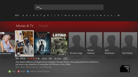 Xbox Search Netflix Us Canada Netflix On Xbox 360 Now Has Search