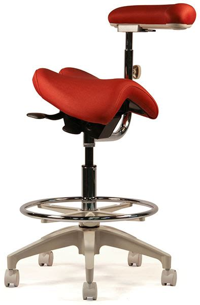 Crown Seating Saddle Stool by Crown Seating Denver Dental Assistant Saddle Stool