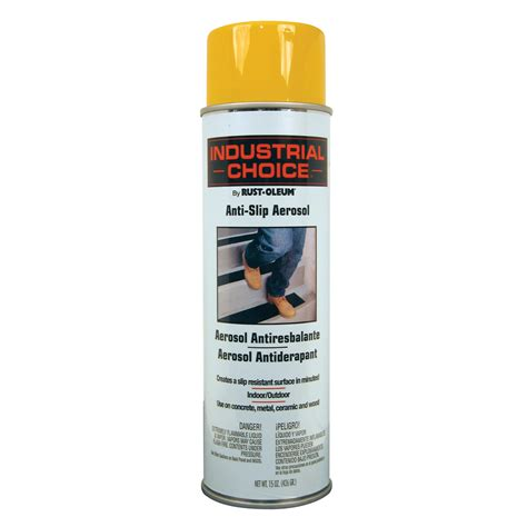 shop rust oleum industrial choice yellow spray paint actual net contents 15 oz at lowes