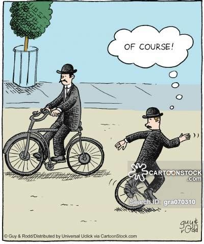 Cyling Vintage Humour Poster Free Stock Photo Public Domain Pictures Bicycle Cartoons And Comics Funny Pictures From Cartoonstock