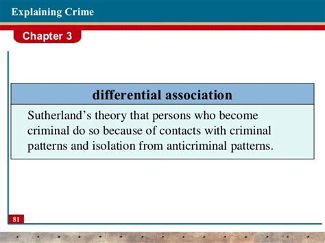 crime pattern theory criminology theories of crime criminology