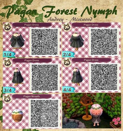 acnl hair braid qr http mistwood acnl tumblr com post 96992030028 pagan