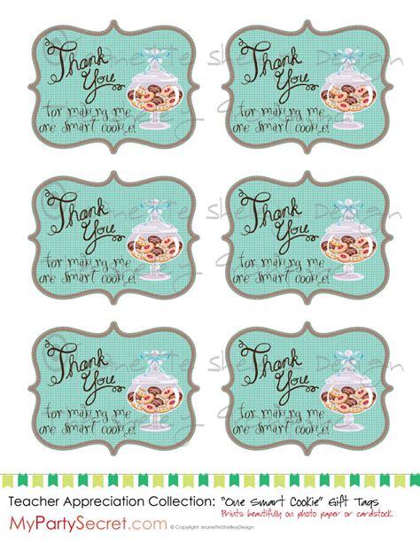 printable gift tags teacher appreciation diy printable teacher appreciation one smart