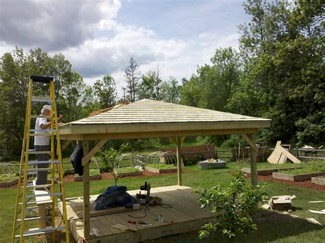 impressive diy gazebo plans 10 free outdoor pavilion free gazebo plans 14 diy ideas to enjoy outdoor living