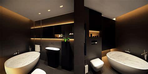 Gold Bathroom Ideas 6 Magnifiques Int 233 Rieurs Minimalistes Noirs Et Blancs