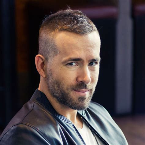 Ryan Reynolds Haircut   Men's Hairstyles   Haircuts 2017