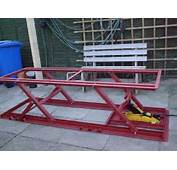 Woodworking Motorcycle Lift Bench Plans PDF Free Download