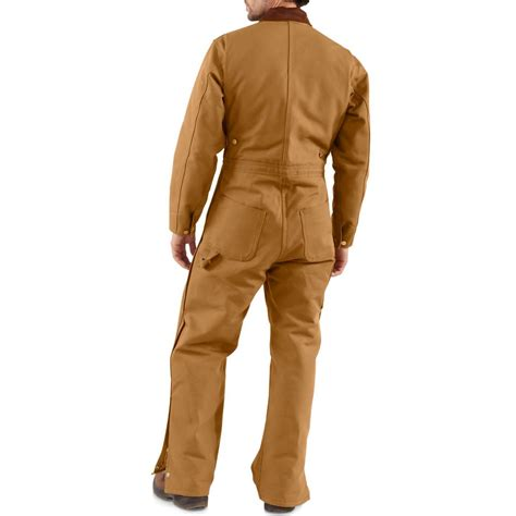 Carhartt Quilt Lined Duck Coveralls by Carhartt Quilt Lined Duck Coveralls For