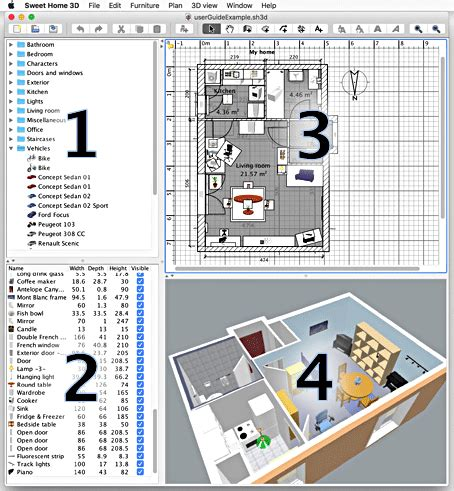 sweet home 3d home design software sweet home 3d user s guide